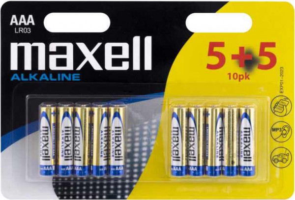 Maxell 10x LR03 (AAA)