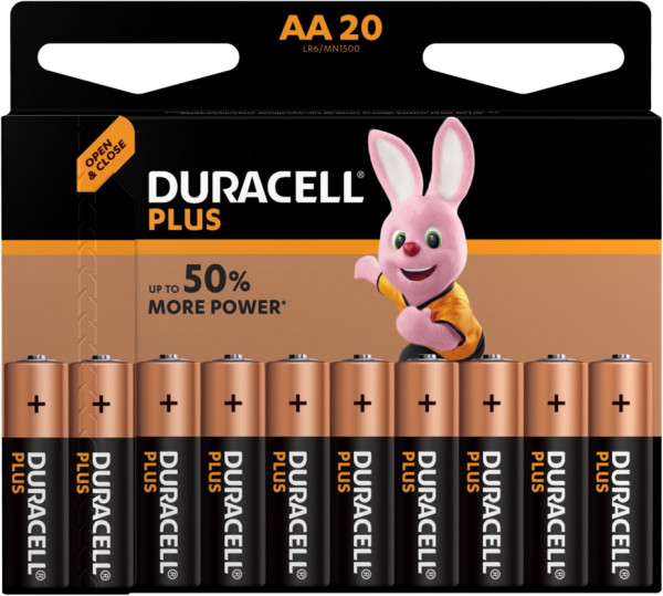 Duracell Plus Power 20x LR6 (AA/MN1500)