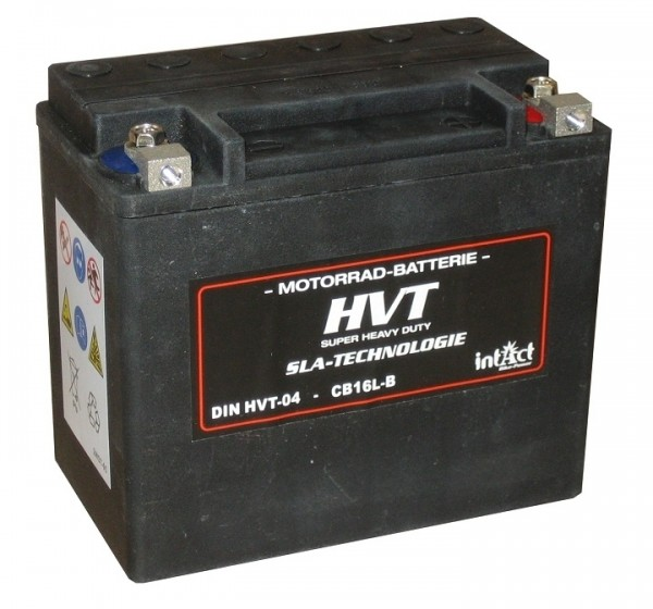 Intact Bike Power HVT - HVT-04 MoBa 12 V 30 AH (c20) 380 A (EN), YIX30L-BS, 66010