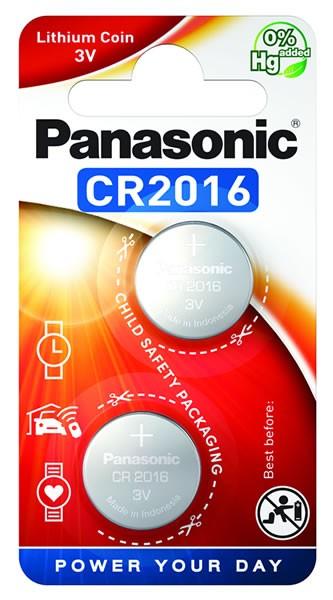 Panasonic Lithium Power 2x CR2016