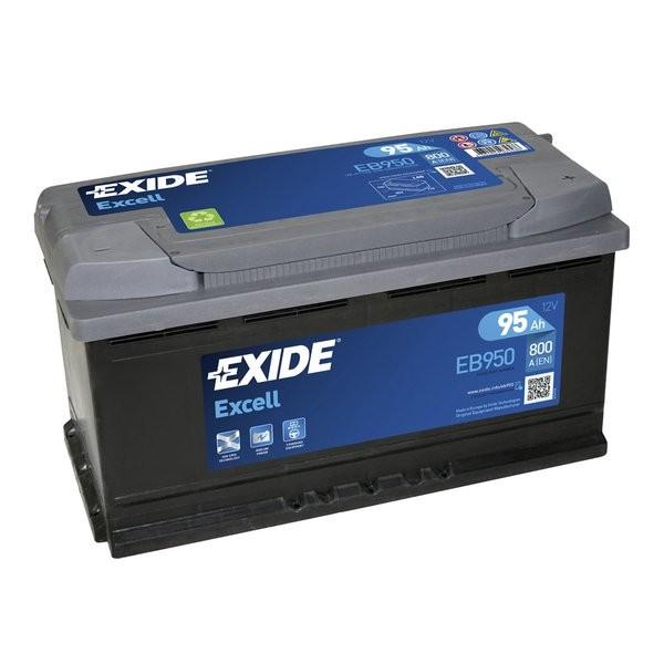 Exide Excell 12 V 95 AH (c20) 800 A (EN)  GUG
