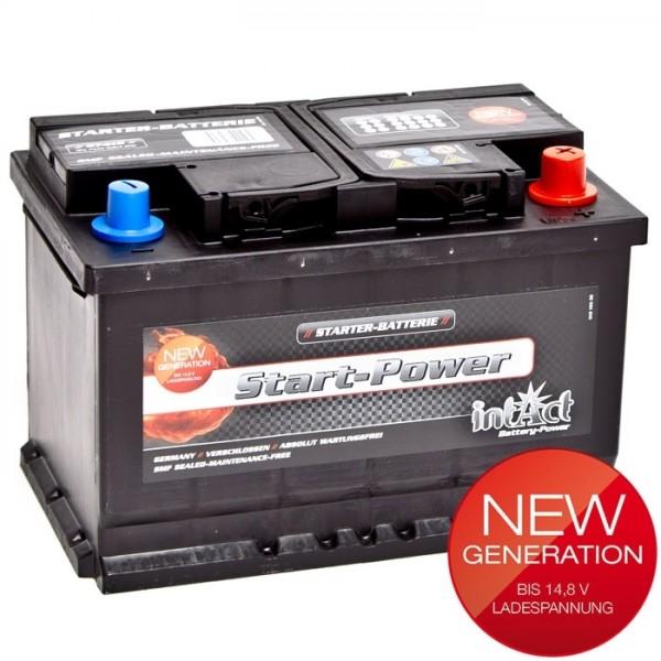 Intact Start Power 12 V 74 AH (c20) 680 A (EN)  GUG