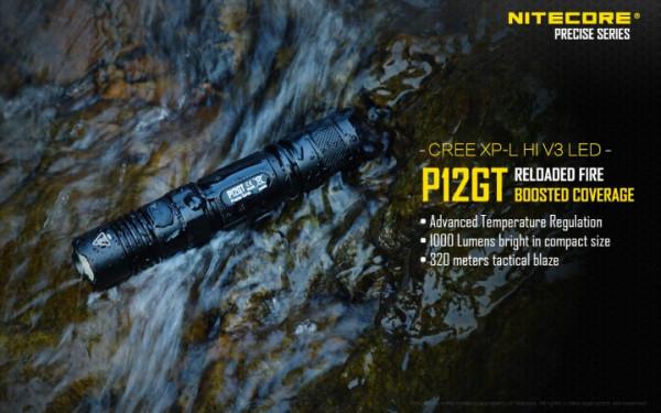 Nitecore LED-Taschenlampe P12GT