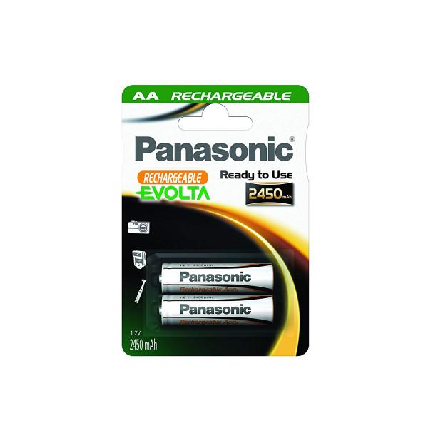 Panasonic Evolta Akku 2x LR6 (AA) 2450mAh