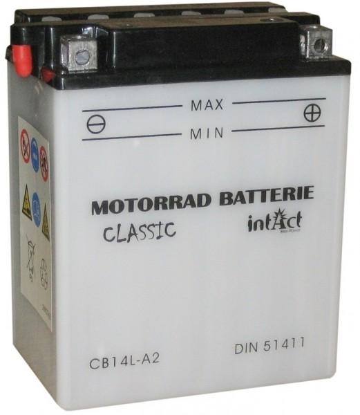 Intact Bike Power Classic - 51411S MoBa 12 V 14 AH (c20) 140 A (EN), CB14L-A2