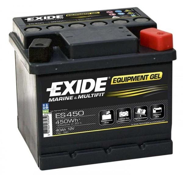 Exide ES450 12 V 40 AH (c20) 280 A (EN) EU GUG