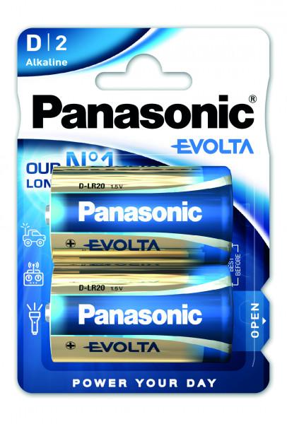 Panasonic Evolta 2x LR20 (D)