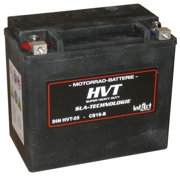 Intact Bike Power HVT - HVT-05 MoBa 12 V 12 AH (c20) 250 A (EN), YTX14L-BS, 65958
