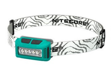 Nitecore Stirnlampe NU10 grün