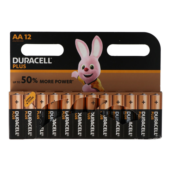 Duracell Plus Power 12x LR6 (AA/MN1500)