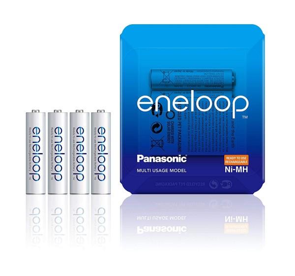 Panasonic Eneloop 4x AAA 750mAh  -Sliding Pack