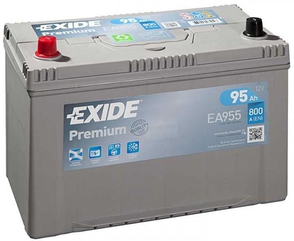 Exide Premium Asia 12 V 95 AH (c20) 800 A (EN)  GUG