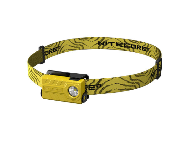 Nitecore Stirnlampe NU20 gelb