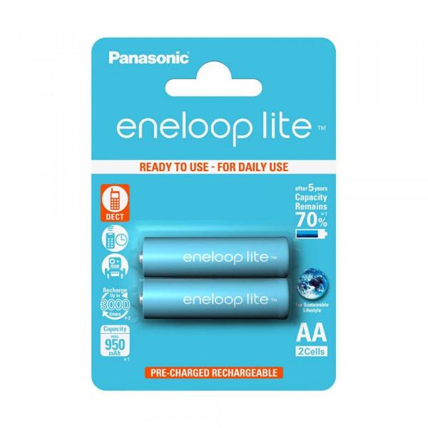 Panasonic Eneloop Lite 2x AA 950mAh