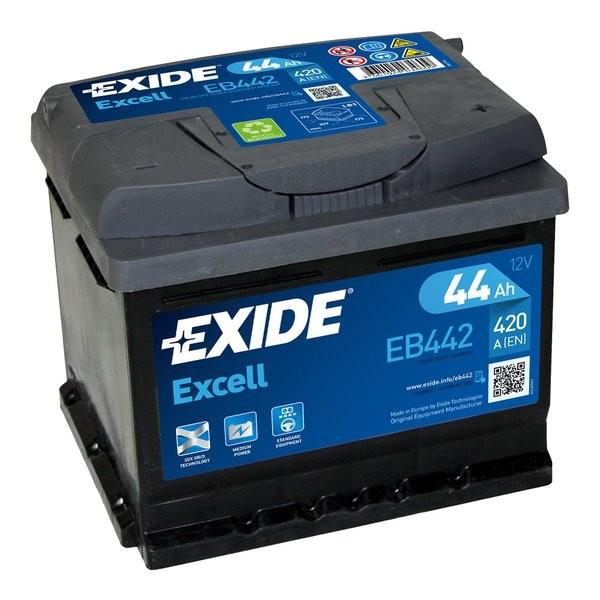 Exide Excell 12 V 44 AH (c20) 420 A (EN)  GUG
