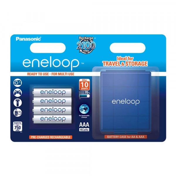 Panasonic Eneloop 4x AAA 750mAh & Box
