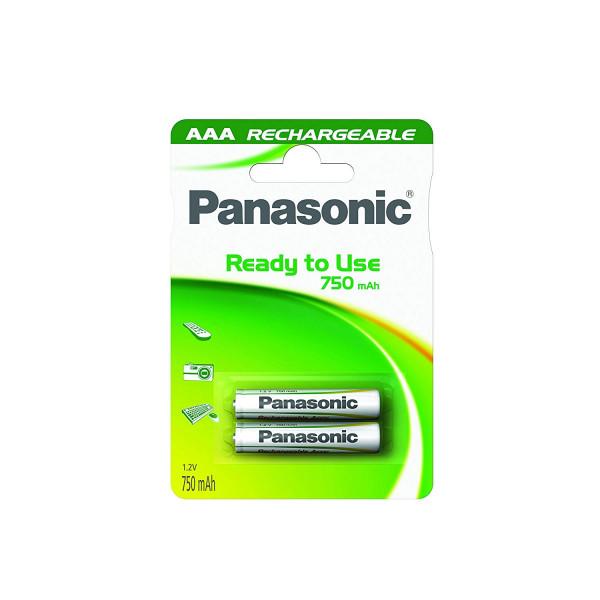 Panasonic Akku 2x LR03 (AAA) 750mAh