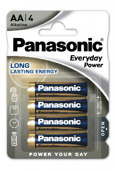 Panasonic Everyday 4x LR6 (AA)