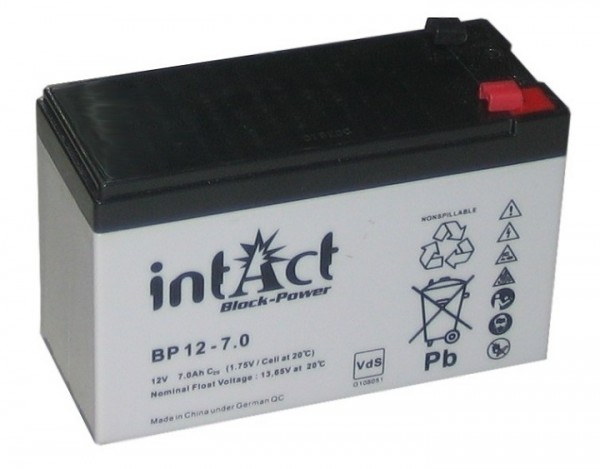 Intact Block Power BP12-7.2