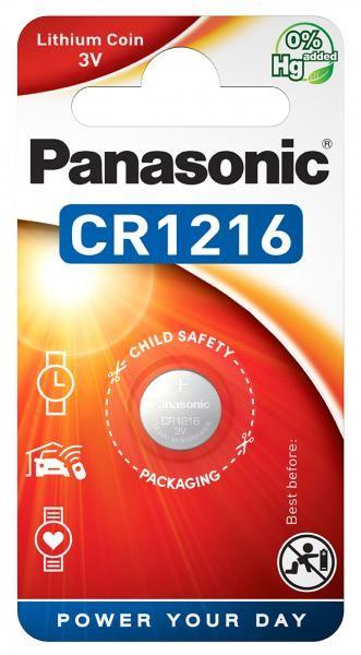 Panasonic Lithium Power 1x CR1216