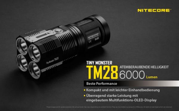 Nitecore LED-Taschenlampe TM28