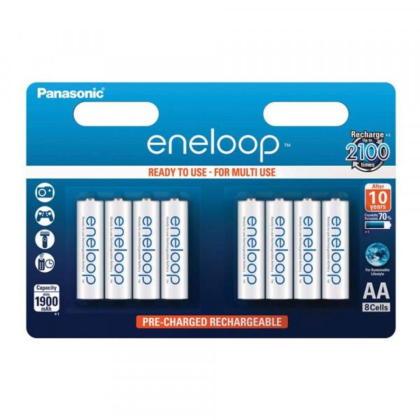 Panasonic Eneloop 8x AA 1900mAh