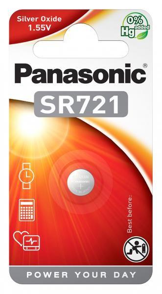 Panasonic SR721 (Silberoxid/Uhrenbatterien)