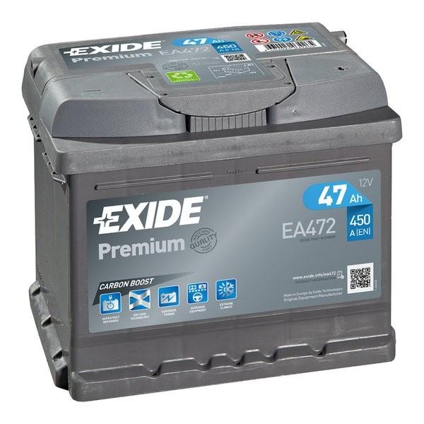Exide Premium 12 V 47 AH (c20) 450 A (EN)  GUG