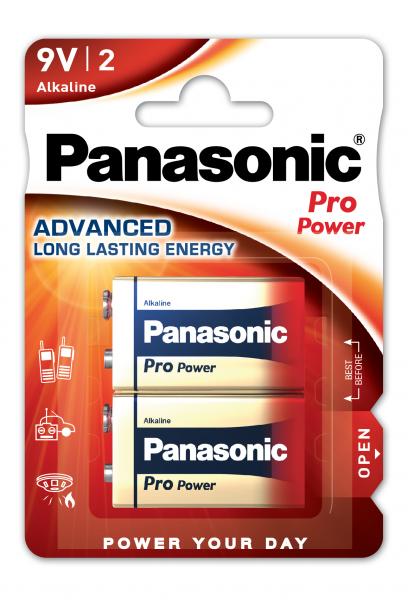 Panasonic Pro Power 2x 6LR61 (9V Block)