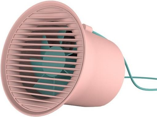 Baseus Small Horn Series USB Ventilator Pink