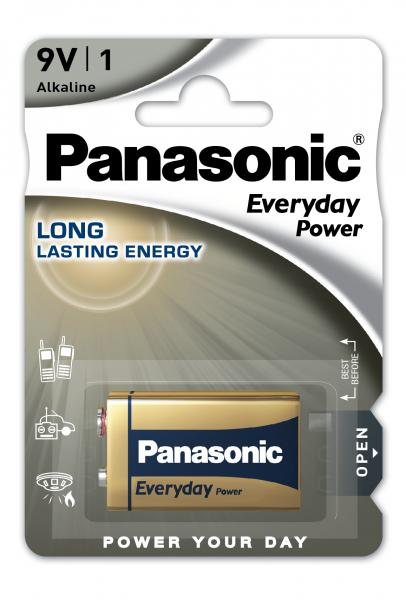 Panasonic Everyday 1x 6LR61 (9V Block)