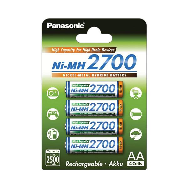 Panasonic Akku High Capacity 4x AA 2500mAh