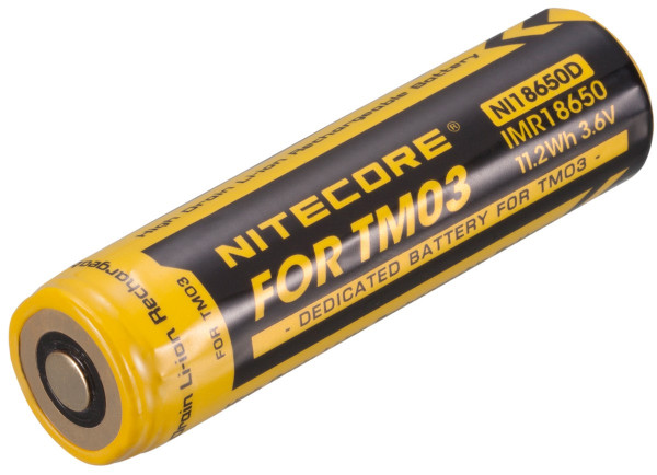 Nitecore Li-Ion Akku IMR NI18650D