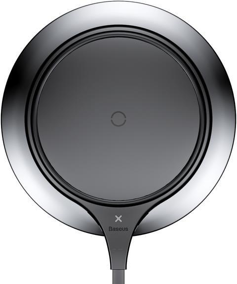 Baseus Metal Qi Wireless Charger Black-Silver