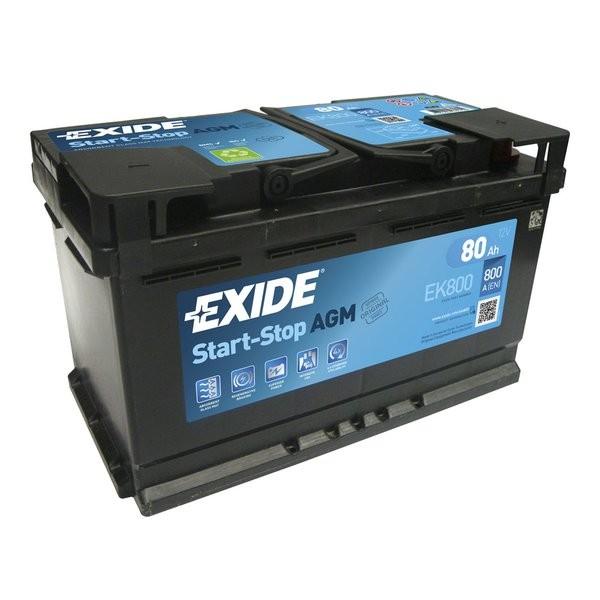 Exide Start-Stop AGM 12 V 80 AH (c20) 800 A (EN)  GUG