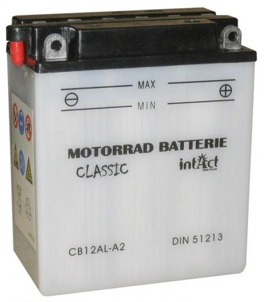 Intact Bike Power Classic - 51213S MoBa 12 V 12 AH (c20) 120 A (EN), CB12AL-A2