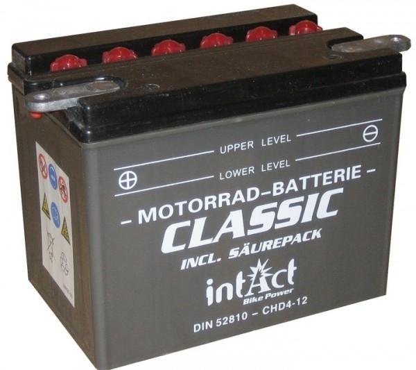 Intact Bike Power Classic - 52810S MoBa 12 V 28 AH (c20) 230 A (EN), CHD4-12, CHD-12