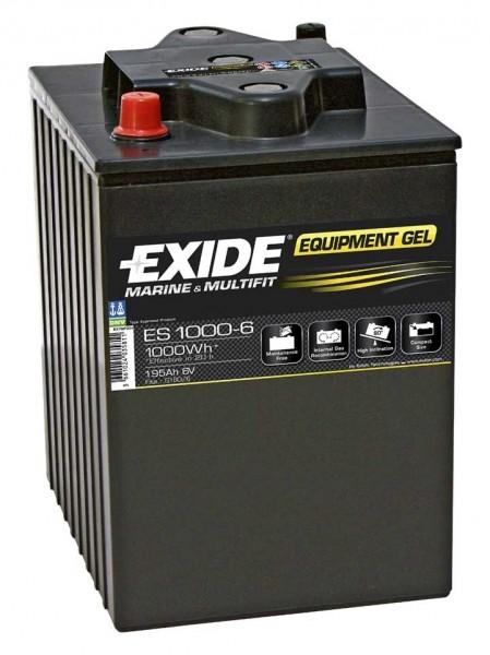 Exide ES1000-6 6V 190 AH (c20) 900 A (EN)  GUG