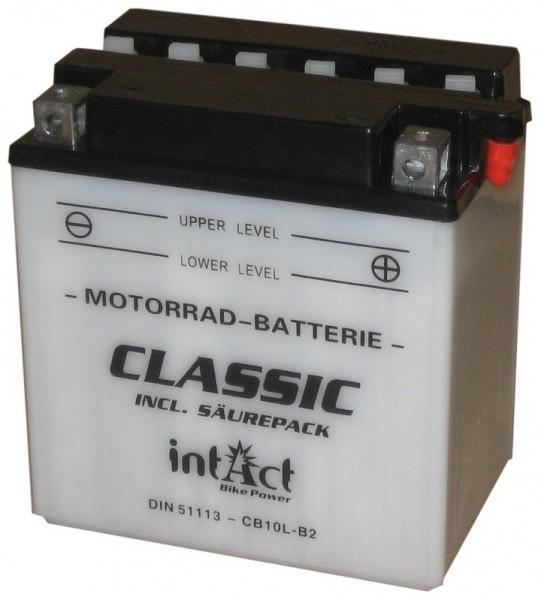 Intact Bike Power Classic - 51113S MoBa 12 V 11 AH (c20) 90 A (EN), CB10L-B2