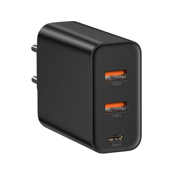 Baseus PPS three output quick charger(C+U+U)60W EU Black