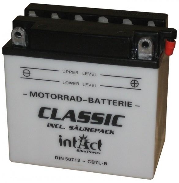 Intact Bike Power Classic - 50712S MoBa 12 V 8 AH (c20) 40 A (EN), CB7L-B  +SP