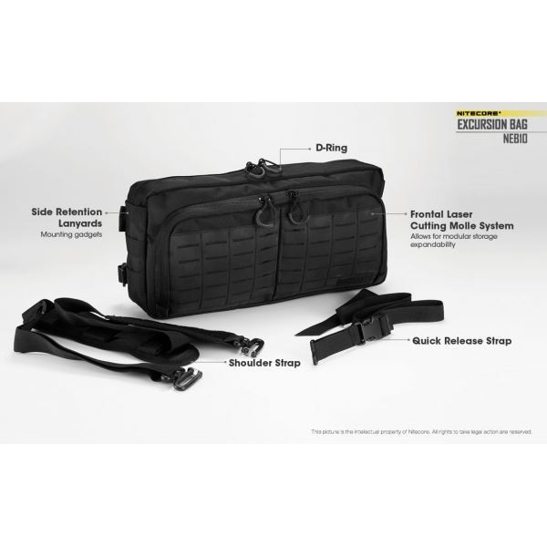 Nitecore Excursion Bag NEB10