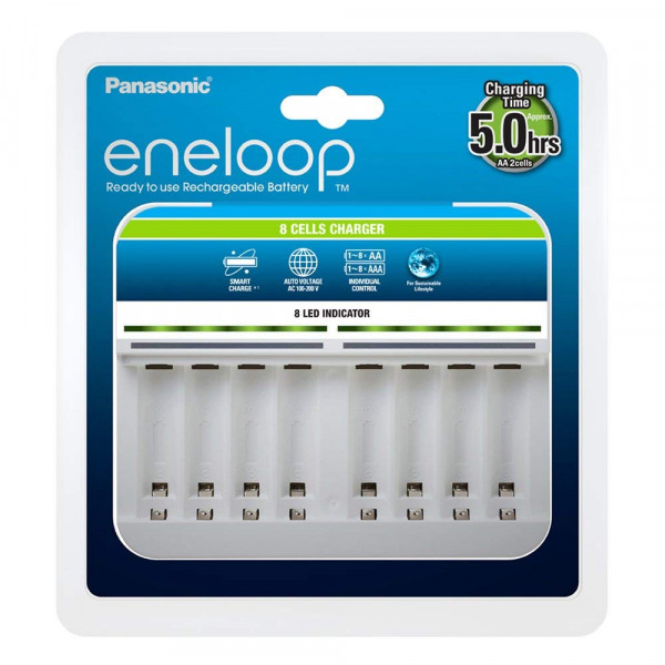 Panasonic Eneloop 8er Charger