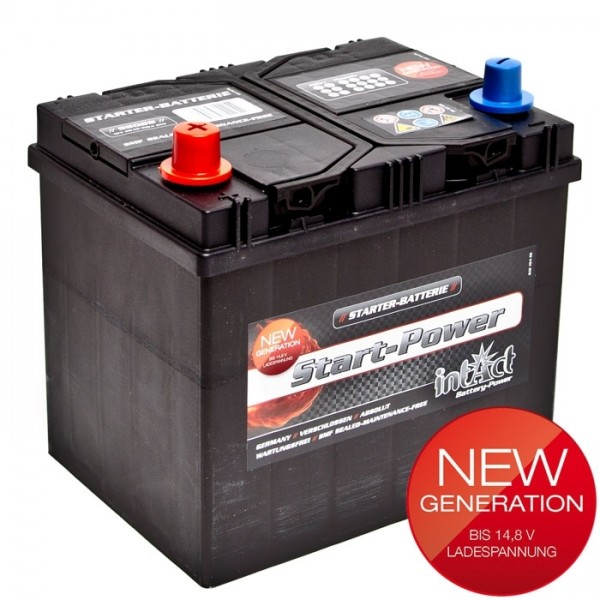 Intact Start Power Asia 12 V 60 AH (c20) 510 A (EN)  GUG