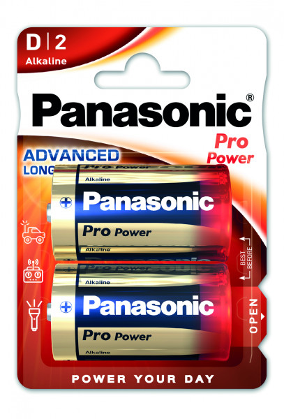Panasonic Pro Power 2x LR20 (D)