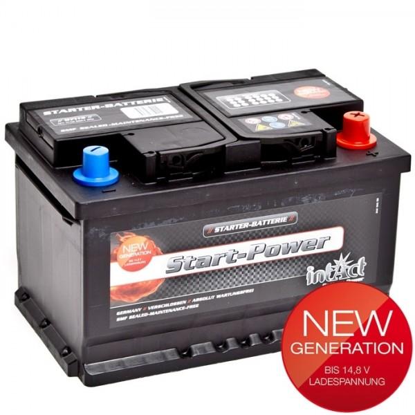 Intact Start Power 12 V 71 AH (c20) 680 A (EN)  GUG