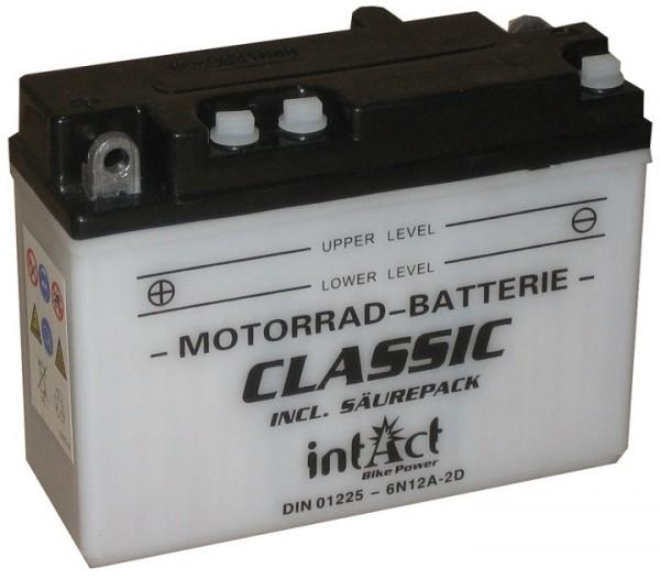 Intact Bike Power Classic - 01225S MoBa 6 V 12 AH (c20) 80 A (EN), 6N12A-2D, B54-6A