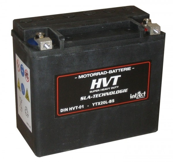 Intact Bike Power HVT - HVT-01 MoBa 12 V 18 AH (c20) 350 A (EN), YTX20L-BS, 65989