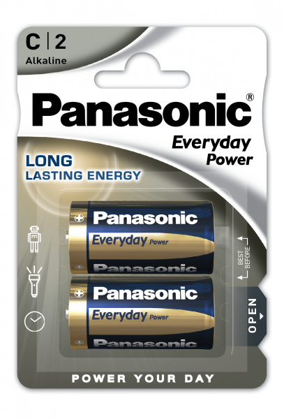 Panasonic Everyday 2x LR14 (C)
