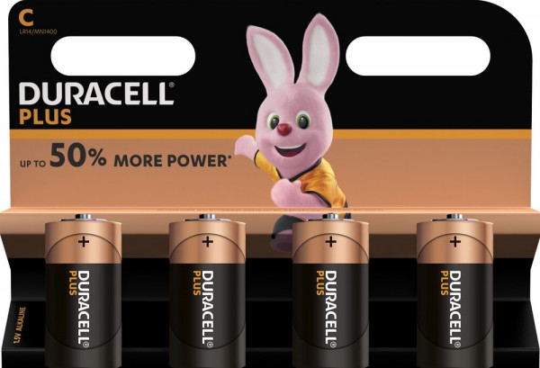 Duracell Plus Power 4x LR14 (C/MN1400)